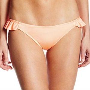 NWT Eberjey Beach Glow Ruffle Bikini Bottom - L